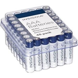 Insignia AAA Batteries Alkaline Battery 1.5V Mercury-free Cadium-free Environmentally Frendly for $40