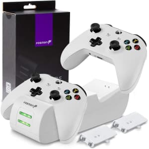 Fosmon Dual Controller Charger for $20