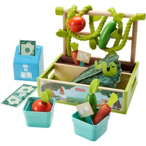 Fisher-Price 21-Piece Farm-to-Market Stand Set for $30