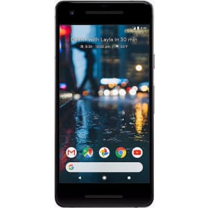 Unlocked Google Pixel 2 128GB Android Smartphone for $120