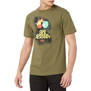 LRG Men's Spring 21 Graphic Designed Logo T-Shirt, Military Green, X-Large for $22