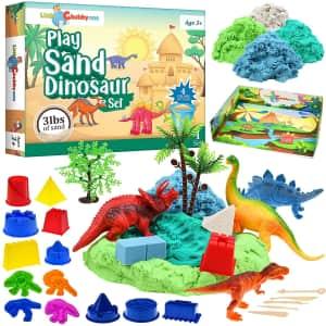 Little Chubby One Play Sand Dinosaur Set for $25