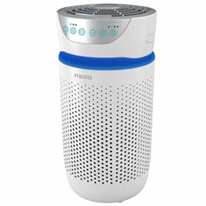 HoMedics TotalClean Tower Air Purifier for Viruses, Bacteria, Allergens, Dust, Germs, HEPA Filter, for $92