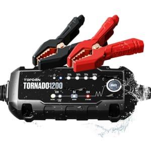 Topdon 12V Smart Car Battery Charger for $24