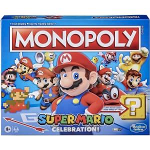 Monopoly Super Mario Celebration Edition Board Game for $25