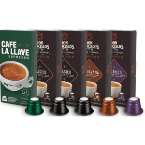 Don Francisco's & Cafe La Llave Espresso Capsules Variety Pack 50-Count for $19 via Sub. & Save
