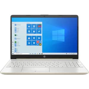 """HP 15t 10th-Gen. i5 15.6"""" Touch Laptop for $550"""
