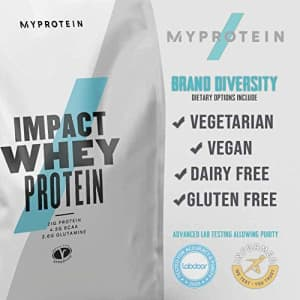 Myprotein Impact Whey Isolate Protein Powder, Chocolate Mint, 2.2 Lb (40 Servings) for $70
