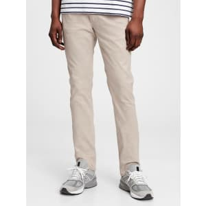 Gap Soft Wear Skinny Jeans With Washwell for $18
