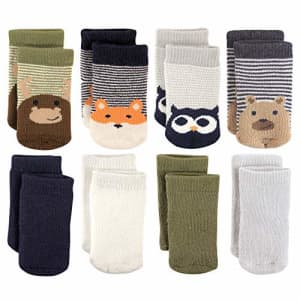 Luvable Friends Unisex Baby Fun Essential Socks, Fox Owl, 6-12 Months for $12
