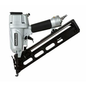 Metabo HPT Finish Nailer, 15 Gauge, Pneumatic, Angled, Finish Nails 1-1/4-Inch up to 2-1/2-Inch, for $129