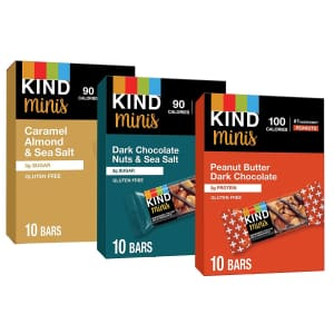 KIND Minis Variety 30-Pack for $11 via Sub & Save