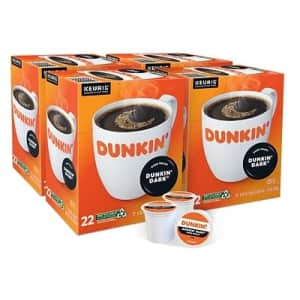 Dunkin Donuts Dark Coffee Keurig K-Cup Pod 88-Pack for $40