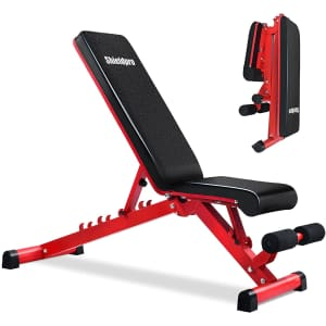Shieldpro Adjustable Weight Bench for $70