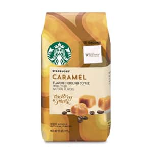 Starbucks Flavored Ground Coffee Caramel 6 bags (11 oz. each) for $62