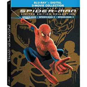 Spider-Man Limited Edition 3-Movie Collection on Blu-ray for $22