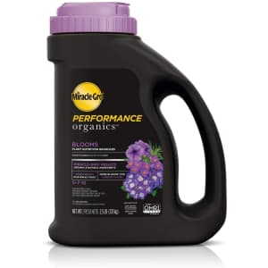 Miracle-Gro Performance Organics Blooms Plant Nutrition Granules for $15