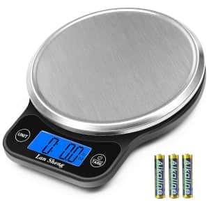 Lansheng Stainless Steel Digital Food Scale for $8