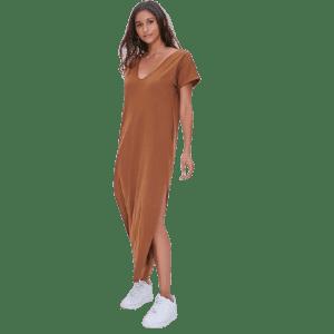 Forever 21 Women's Side-Slit Maxi Dress for $12