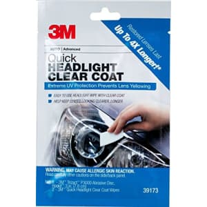 3M Quick Headlight Clear Coat Wipe for $5