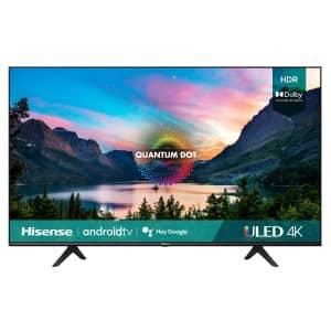 """Hisense UG6 HIS75U6G 75"""" 4K 4K ULED Quantum HDR Smart TV for $999"""