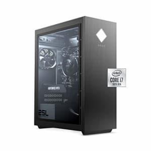 HP OMEN 25L Gaming Desktop PC, NVIDIA GeForce RTX 2060, Intel Core i7-10700F, HyperX 16 GB DDR4 RAM, 1 for $1,556