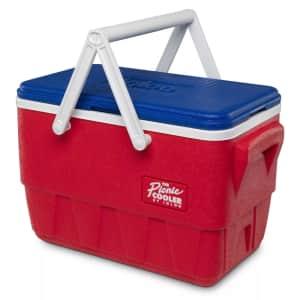 Igloo Picnic Basket Retro 25-Quart Cooler for $36 in cart