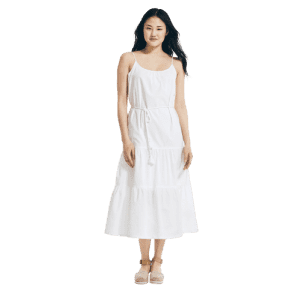 Nautica Women's Embroidered Tiered Dress for $36