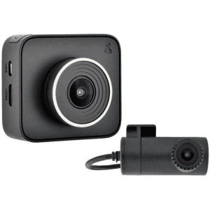 Cobra Electronics Front & Rear Dash Cam for $77