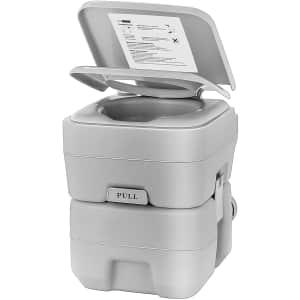Vivohome 5.3-Gallon Portable Toilet for $102