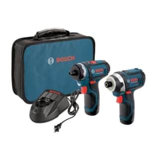Bosch 12V Max 2-Tool Combo Kit for $199