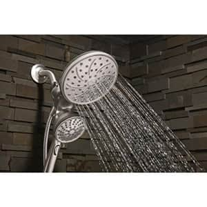 Moen 26008srn Attract 6-Spray Hand Shower and Shower Head Combo Kit with Magnetix in Spot Resist for $110