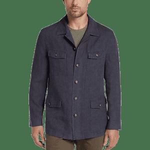 Joseph Abboud Men's Linen Modern Fit Casual Coat for $30