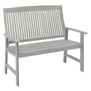 Jack Post Wooden Park Bench for $230