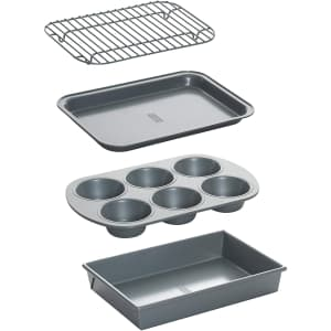 Chicago Cutlery Chicago Metallic Non-Stick Toaster Oven Set for $11