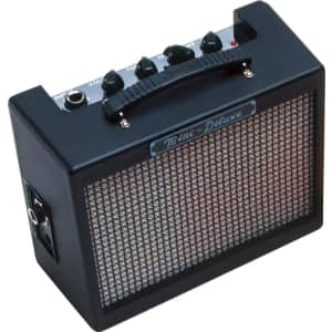 Fender Mini Deluxe Electric Guitar Amp for $30