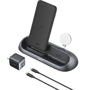 Anker PowerWave Go 3-in-1 Wireless Charging Stand for $153