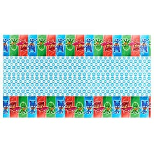 American Greetings Plastic Table Cover for Arts & Crafts, PJ Masks Party Supplies (1-Count) for $7
