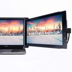 """Mobile Pixels Trio Max 14.1"""" 1080p IPS Portable Monitor for $263"""