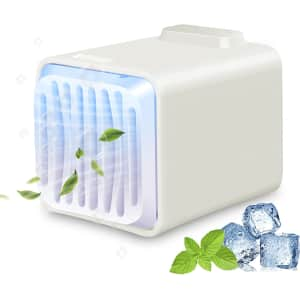 TKLake 4-in-1 Portable Air Conditioner for $20