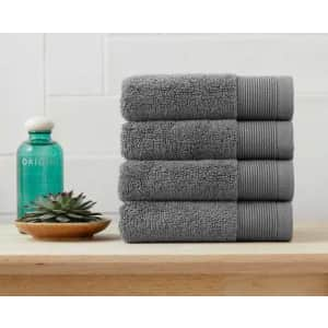 StyleWell Performance Quick Dry Washcloth 4-Pack for $7