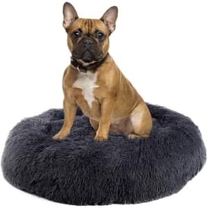 Suhleir Medium Calming Dog Bed for $23