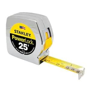 Stanley PowerLock 25-Foot Tape Measure for $21