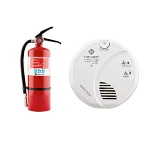 First Alert Home Safety Products at Amazon: Up to 56% off