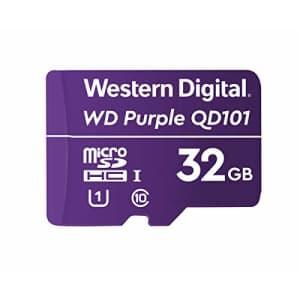 Western Digital SC QD101 Micro SD Card 32GB WD Purple Surveillance Camera WDD032G1P0C for $20