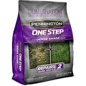 Pennington One Step Complete Dense Shade 5-lb. Bag for $9