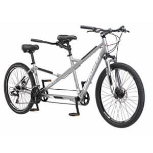 Schwinn Twinn Classic Tandem Adult Beach Cruiser Bike, Double Seater, Steel Low Step Frame, for $783