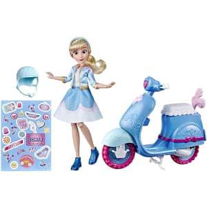Disney Princess Comfy Squad Cinderella's Sweet Scooter for $31