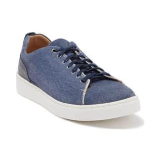 Donald J Pliner Men's Alan Canvas Sneakers for $28