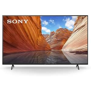 """Sony X80J 75"""" 4K HDR LED UHD Smart Google TV for $1,098"""